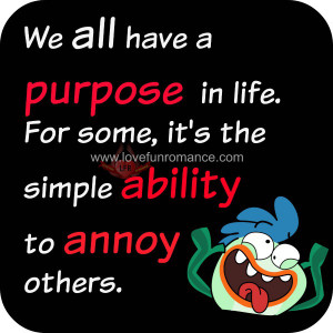We all have a purpose in Life. For some, it's the simple ability to ...