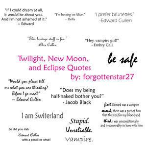 twilight saga quotes Image