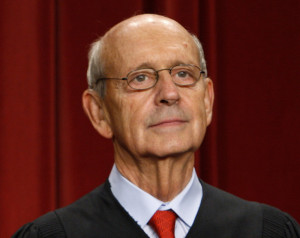 Justice Stephen Breyer, who has served on the Supreme Court since 1994 ...