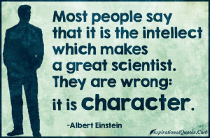 ... , science, wrong, mistake, science, character, Albert Einstein