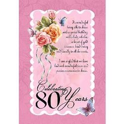 80th Birthday Quotes For Women