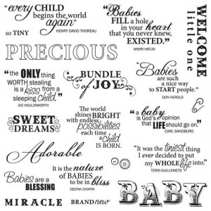 for scrapbooking baby boy quotes for baby girl quotes for scrapbooking ...