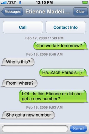 Funny iPhone Messages 7 10