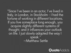 Matthew Settle