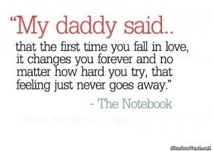 The Notebook, Nicholas Sparks
