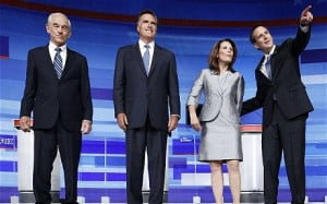 ... Bachmann and Tim Pawlenty (R): Republican Iowa debate: key quotes