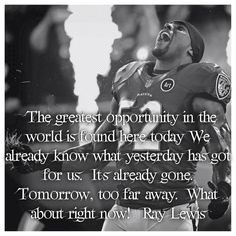 Ray Lewis Quotes On Life Ray lewis quotes, baltimore