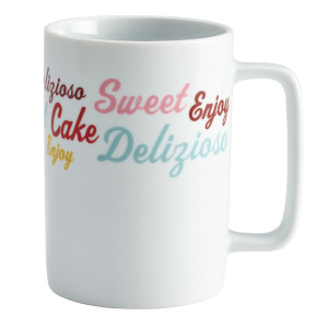 Cake Boss 4-Piece Mug Set,