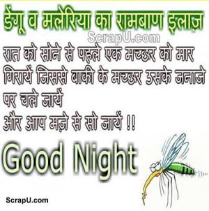 ... Ramban ilaaz roz sone se pahale ek machhhar mare - Good-Night pictures