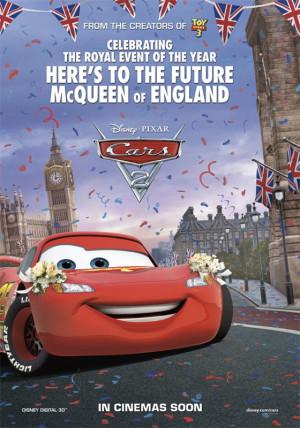 CARS 2 - Pixar - En France le 27 juillet 2011 -