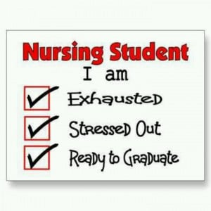 Nursing school...December 2014 hurry up'