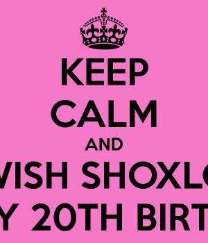20th Birthday Wishes 08