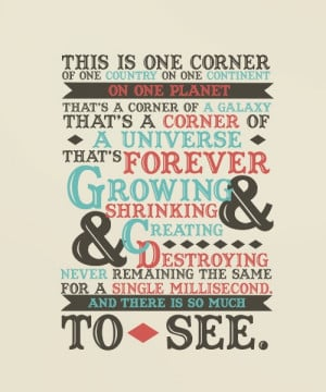 Love this Doctor Who Quote!