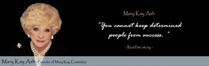 ... month of successful women with mary kay ashe the founder of mary kay