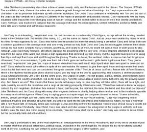Grapes of wrath essay topics