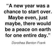 posit belief dorothea benton better life benton frank