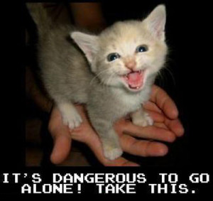 Most LOLcats are from icanhascheezburger.com or LOLcats.com.