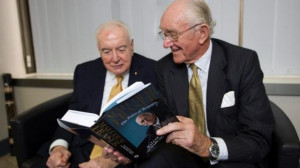 Gough Whitlam and Malcolm Fraser during the latter's 2010 book tour ...