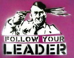 He's Ba-ack! Hitler Reappears in Graffiti Art