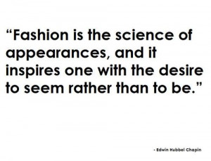 Taste of Fashion: Randome fashion quotes of the week