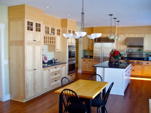 ... areas we specialize in are kitchen remodeling and basement finishing