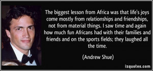 More Andrew Shue Quotes