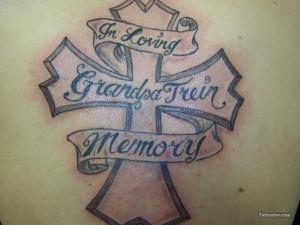 Memorial Tattoos For Grandpa Cowboy Grandpa memorial tattoo design