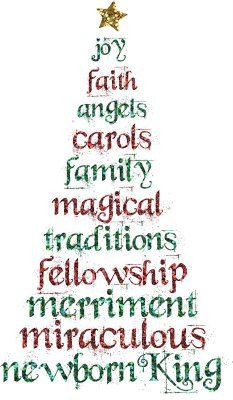 Christian Christmas Sayings And Phrases What christmas means to me