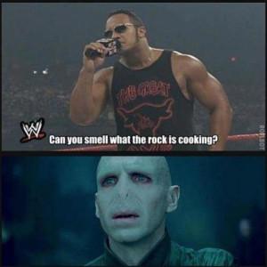"""Dwayne """"The Rock"""" Johnson asks somebody:"""