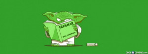 Funny Yoda Star Wars Fb Cover Facebook Cover