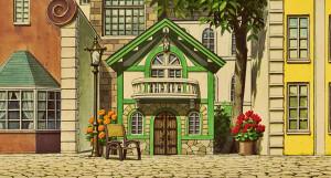 ... Castle From Up on Poppy Hill hayao miazaki secret world of arriety