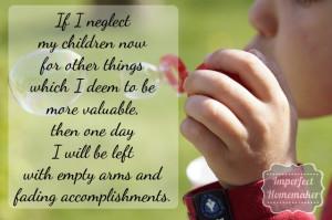 Thoughts on the Sacrifice of Motherhood