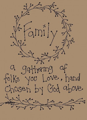 ... Primitive Patterns - Stitcheries - Samplers and Sayings - Family