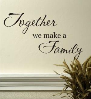 ... make a Family