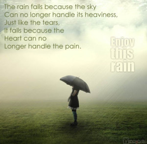 Romantic Rain Quotes For Her For Him For Girlfriend And Sayings Tumblr ...