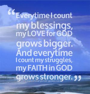 My Faith In God