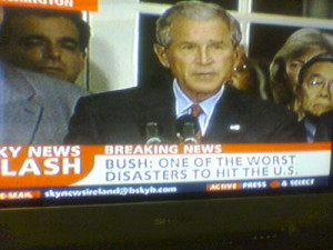 Bush: One of Worst Disasters to Hit U.S.