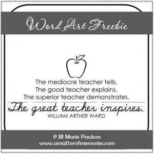 Go Back > Gallery For > You Are A Great Teacher Quotes