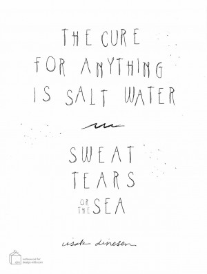 Cholo Love Quotes Today i love... salt water