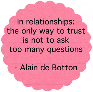 Trust Relationship Quotes Quotes About Trust Issues and Lies In a ...