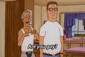 mygifs King of the Hill hank hill propane my own private rodeo