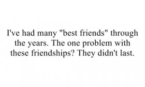 sad lost friendships quotes sayings real Sad Friendship Quotes Tumblr