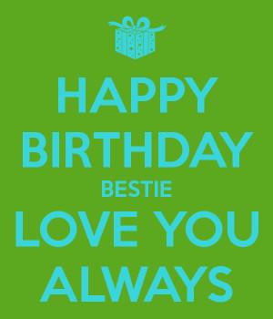 happy birthday bestie happy birthday to the sweetest my bestie a happy ...