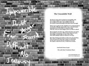 Drum Corps Tribute: The Unscalable Wall