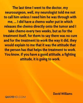 in which releases the chemo directly onto the tumor and I take chemo ...