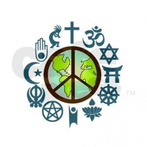 ॐ American Hippie Psychedelic Art ~ Coexist