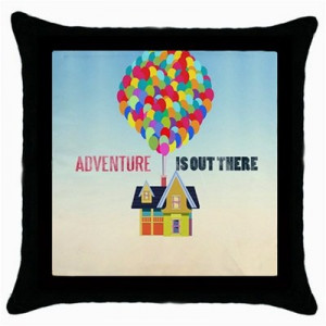 ... Is Out There Disney Up Pixar Quotes Throw Pillow Case Home Decor