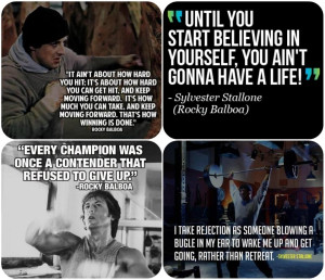 Rocky Balboa understood what it meant to fight. It wasn't his boxing ...