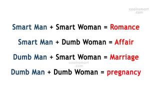 dumb man smart woman marriage dumb man dumb woman pregnancy