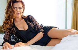 Thread: Esha Gupta pouts, seduces in black on FHM cover November 2014